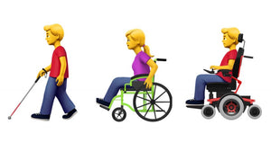 New Emojis Representing Users with Disabilities Proposed by Apple