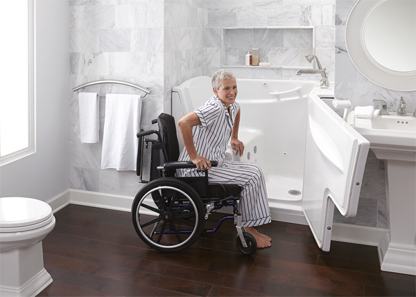 Tips for having a wheelchair accessible home kd smart chair for How to build a wheelchair accessible shower
