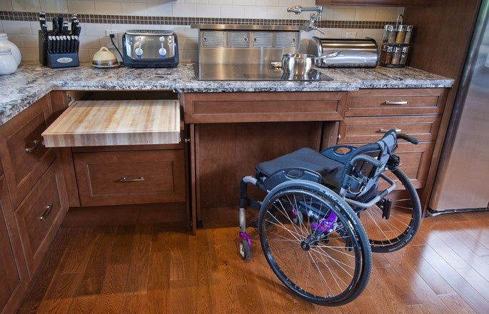 wheelchair accessible kitchen cabinets tips for a wheelchair accessible home kd smart chair 1243