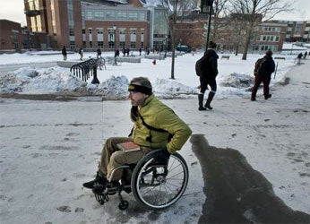 Top 7 Winter Safety Tips for People in Wheelchairs