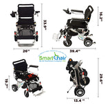 Heavy Duty KD Smart Chair Power Wheelchair