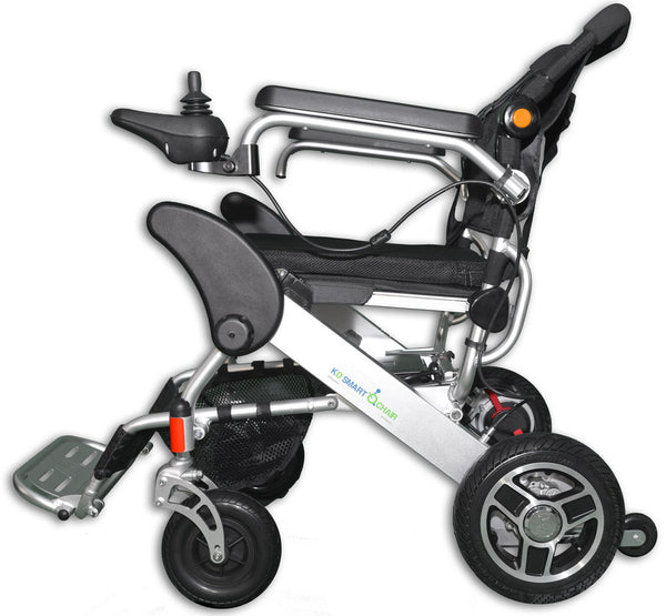kd smart chair heavy duty power wheelchair foldable and durable