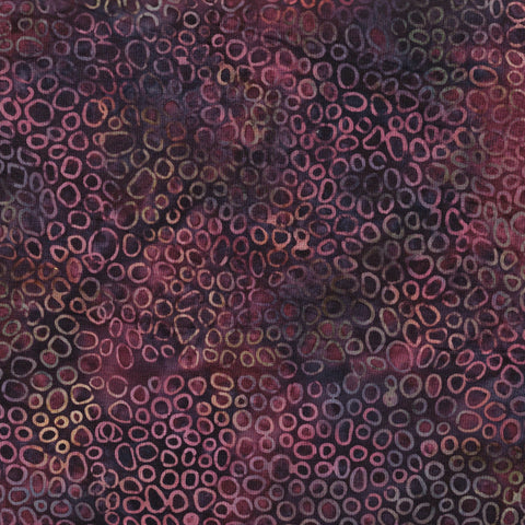 Hoffman Bali Batiks 0052 014 Purple Rainbow Pebble Collective By The Yard