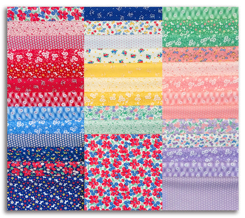 "Moda Pre-Cut 42 Piece 10"" Layer Cake - 30's Playtime"