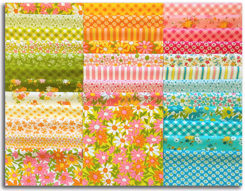 "Moda Pre-Cut 42 Piece 10"" Layer Cake - A Blooming Bunch"