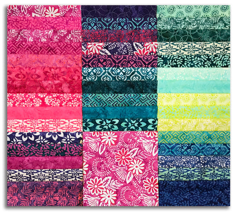 "Moda Batiks Pre-Cut 42 Piece 10"" Layer Cake Squares - Confection Batiks"