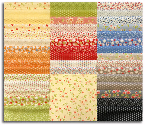 "Moda Pre-Cut 42 Piece 10"" Layer Cake - Figs Shirtings"
