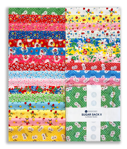 "Windham Fabrics Pre-Cut 42 Piece 10"" Square Layer Cake - Sugar Sack II"