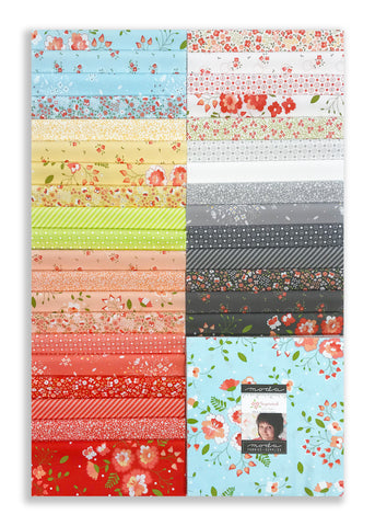 "Moda Pre-Cut 42 Piece 10"" Square Layer Cake - Sugarcreek"