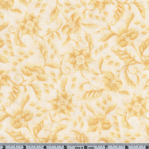 RJR Fabrics Phoenix Metallic 1269 1 Golden Peony of Asia By The Yard