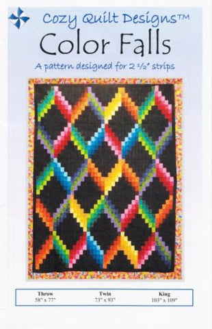 Cozy Quilt Designs Pattern - COLOR FALLS