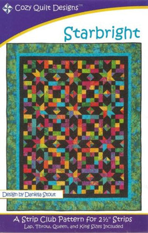 Cozy Quilt Designs Pattern - STARBRIGHT