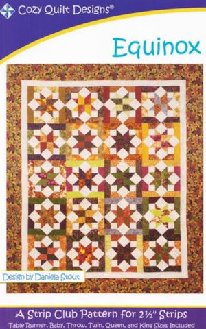 EQUINOX - Cozy Quilt Designs Pattern DIGITAL DOWNLOAD