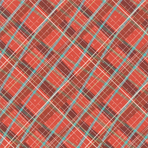 Moda Tahoe Ski Week 13343 13 Slalom Diamond Plaid By The Yard