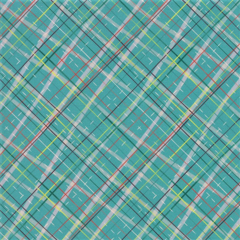 Moda Tahoe Ski Week 13343 15 Evergreen Diamond Plaid By The Yard