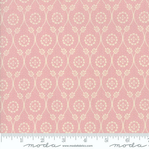 Moda French General Chafarcani 13852 15 Pale Rose Vine Hall By The Yard
