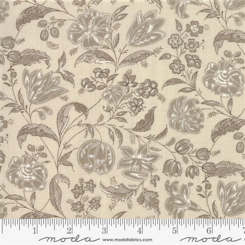 Moda French General Chafarcani 13853 13 Roche Pearl Melodic Floral By The Yard