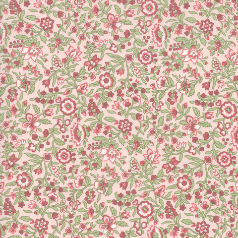 Moda French General Tres Jolie Lawns 13876 12LW Petal Jacinthe - 1 Yard Cut