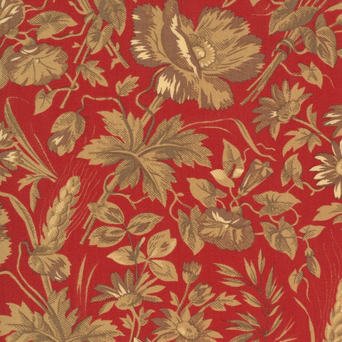 Moda French General La Rose Rouge 13881 12 Rouge Ghislaine By The Yard