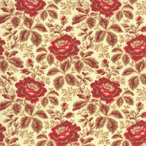 Moda French General La Rose Rouge 13882 15 Pearl Yolande By The Yard