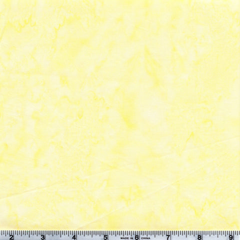 Anthology Batik Lava Basics 1409 01 Mellow Yellow Watercolor By The Yard