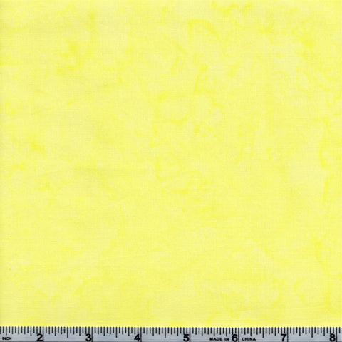 Anthology Batik Lava Basics 1417 02 Lemon Peel Watercolor By The Yard