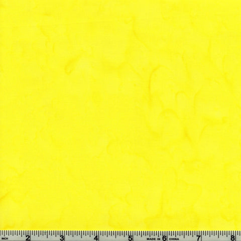 Anthology Batik Lava Basics 1419 Neon Lemon Watercolor By The Yard
