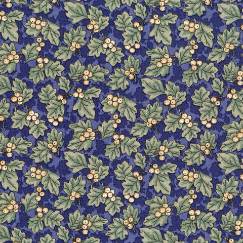 RJR Fabrics River Song 3053 1 Oakberry Navy By The Yard
