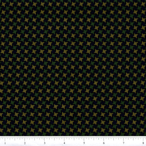 RJR Fabrics Thimbleberries Winter Pines 1566 3 Green Christmas Plaid By The Yard