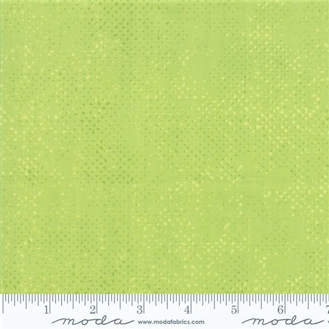 Moda Spotted 1660 63 Pistachio Dotted Basic Solid By The Yard