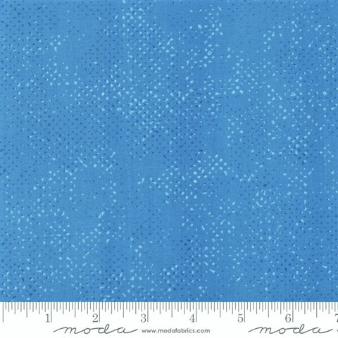 Moda Spotted 1660 75 Cornflower Dotted Basic Solid By The Yard