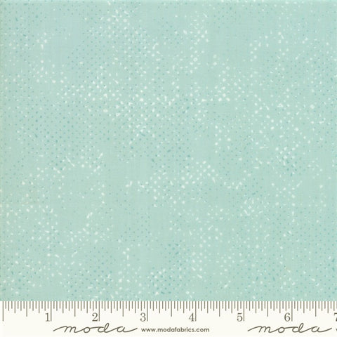 Moda Spotted 1660 76 Mist Dotted Basic Solid By The Yard