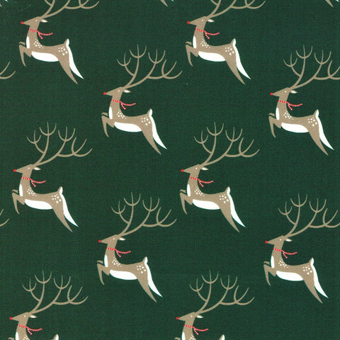 Moda Northern Light 16731 19 Pine Oh Deer By The Yard
