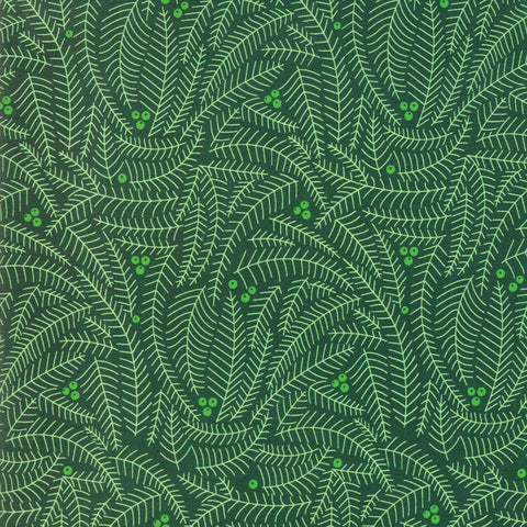 Moda Northern Light 16734 19 Pine Branches By The Yard