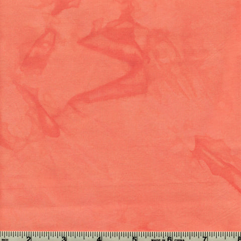 Anthology Batik Lava Basics 1703 01 Coral Queen Watercolor By The Yard