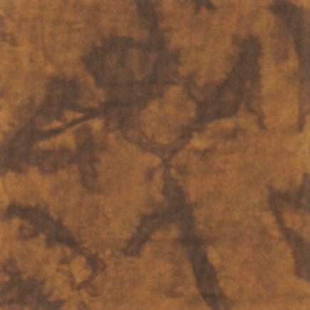 Anthology Bali Batik Lava Solids 1721 Football Brown Watercolor By The Yard