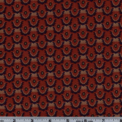 Legacy Club RJR Little Big Quilts 1745 3 Civil Rust By The Yard