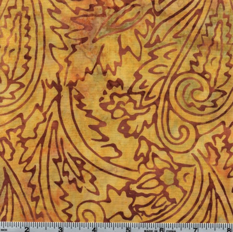 RJR Jinny Beyer Malam Batiks 1764 6 Java Paisley Flowers By The Yard