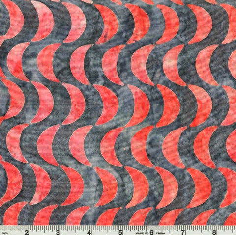 Kaufman Artisan Batiks Helsinki 2 - 17814 293 Smoke Half Moon Rows By The Yard
