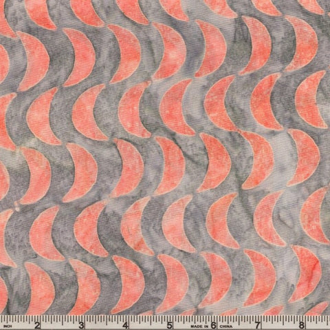 Kaufman Artisan Batiks Helsinki 2 - 17814 337 Watermelon Half Moon Rows By The Yard