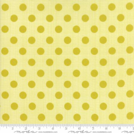 Moda Beach Road 18131 31 Beach Dots Chartreuse By The Yard
