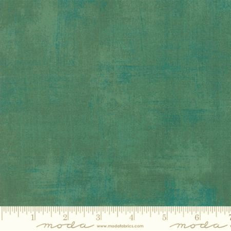 Moda Grunge 30150 493 Deep Jade By The Yard