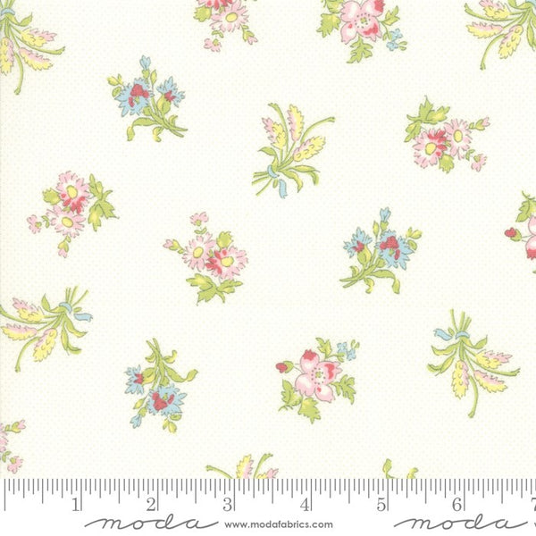 Moda Bramble Cottage 18691 11 Linen Field Floral By The Yard