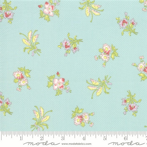 Moda Bramble Cottage 18691 13 Mist Field Floral By The Yard