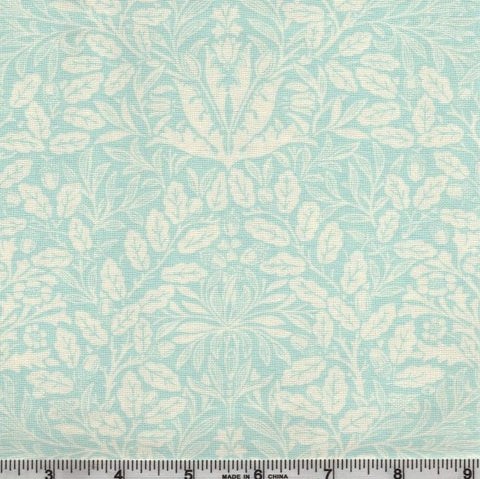 Moda Dover 18701 16 Sea Glass Acorn Damask By The Yard