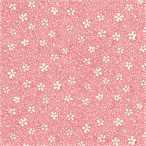 Kaufman Darlene's Favorites 18759 123 Baby Pink Scattered Blossoms By The Yard