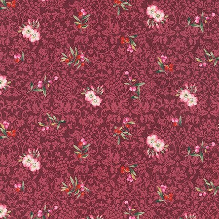 Kaufman Surrey Meadows 18925 233 Berry Blooms & Berries By The Yard