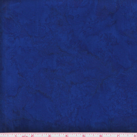 Hoffman Bali Batik Watercolors 1895 17 Cobalt by the yard