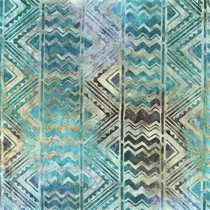 Kaufman Artisan Batiks Desertscapes 19167 327 Laguna Southwest Stripe By The Yard