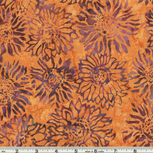 Kaufman Artisan Batiks Inspired By Nature 19173 294 Yarrow Layered Flower By The Yard